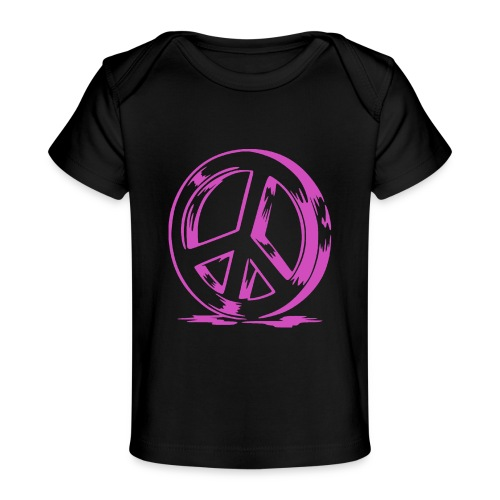 Peace and Love - T-shirt bio Bébé