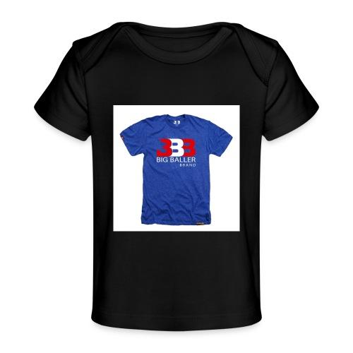 ClassicBBBroyalredwhite 1024x1024 - Baby bio-T-shirt