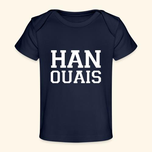 han ouais blanc tribunal charleroi - T-shirt bio Bébé