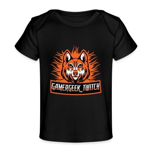 GamerGeek Logo XXXL - Baby Bio-T-Shirt