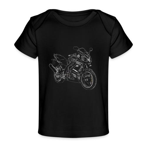 snm daelim roadwin r outline w png - Baby Bio-T-Shirt