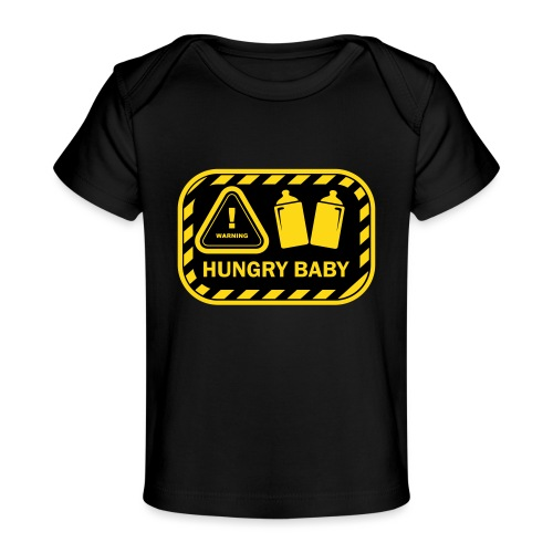 Hungry baby 1 - Baby Bio-T-Shirt
