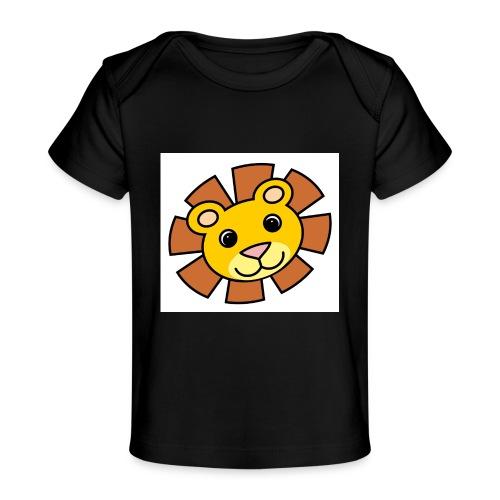 funimals_lejon_f--rg_-2- - Ekologisk T-shirt baby