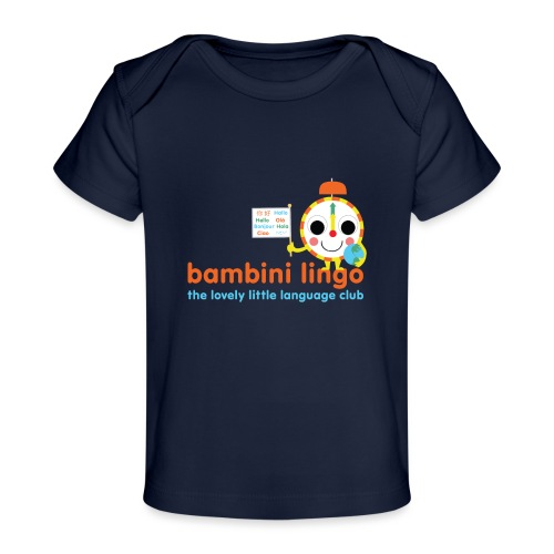 bambini lingo - the lovely little language club - Organic Baby T-Shirt