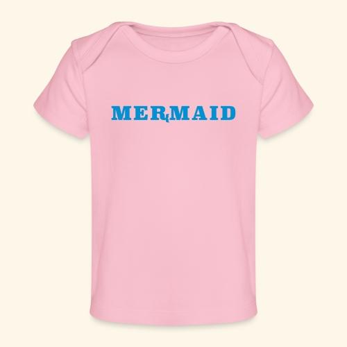 Mermaid logo - Ekologisk T-shirt baby