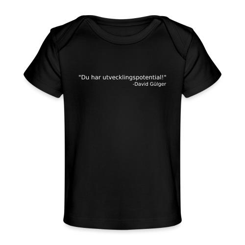 Ju jutsu kai förslag 1 version 1 vit text - Ekologisk T-shirt baby
