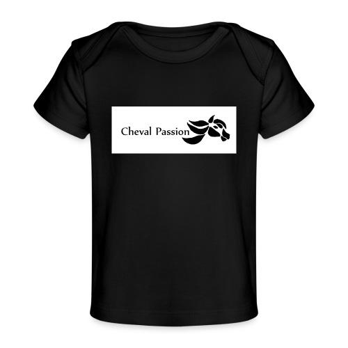 CHEVAL passion - T-shirt bio Bébé