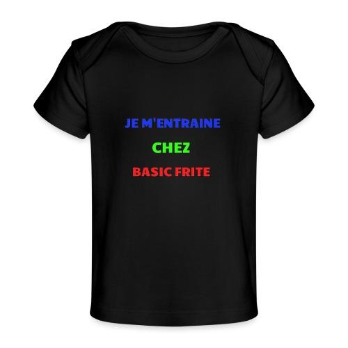 Basic Frite - T-shirt bio Bébé