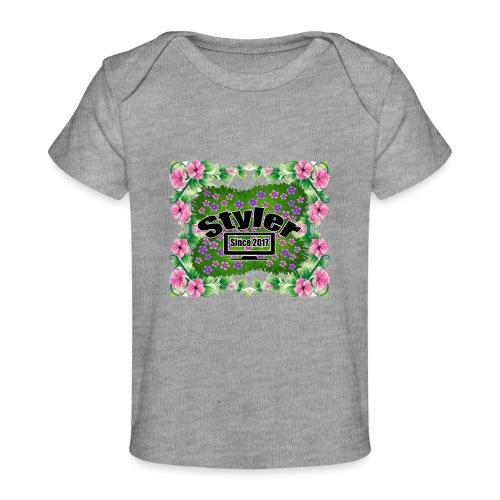 Styler Bloemen Design - Baby bio-T-shirt