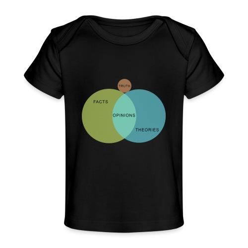 Ven Diagram Truth - Organic Baby T-Shirt