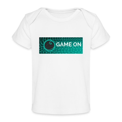 GameOn Light Tekst - Baby bio-T-shirt