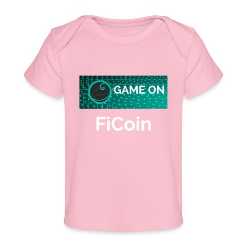 GameOn Light Tekst - Baby bio-T-shirt