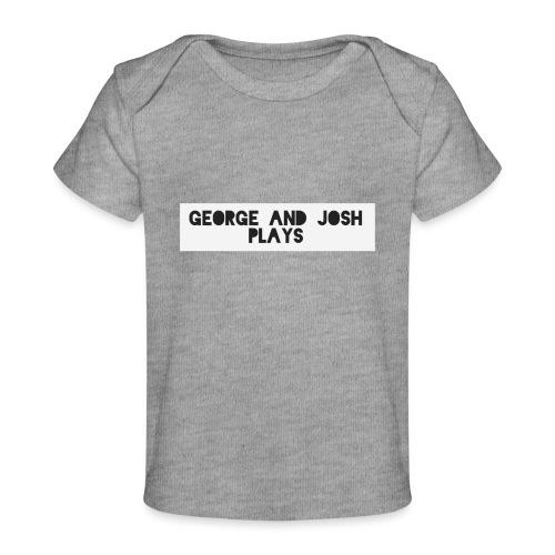 George-and-Josh-Plays-Merch - Organic Baby T-Shirt