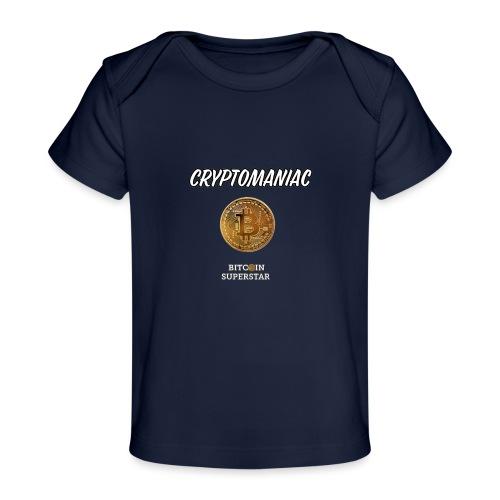 Cryptomaniac - Maglietta ecologica per neonato