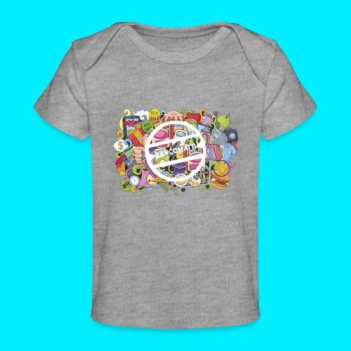 maglia logo doodle - Maglietta ecologica per neonato