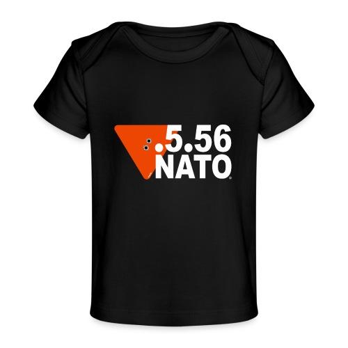 .5.56 NATO BLANC - T-shirt bio Bébé
