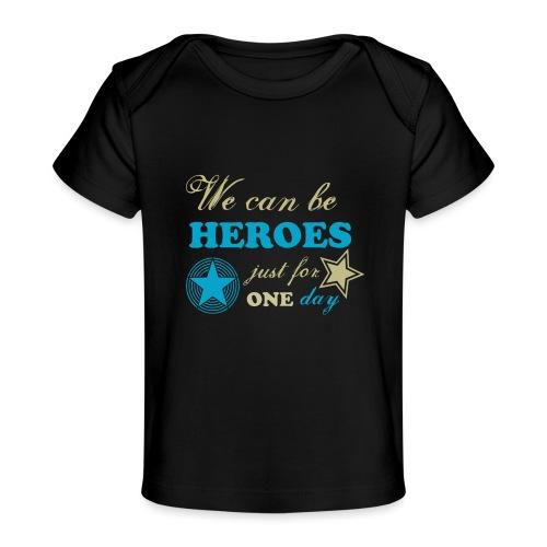 heroes - T-shirt bio Bébé