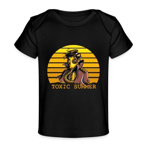Toxic Summer - Camiseta orgánica para bebé