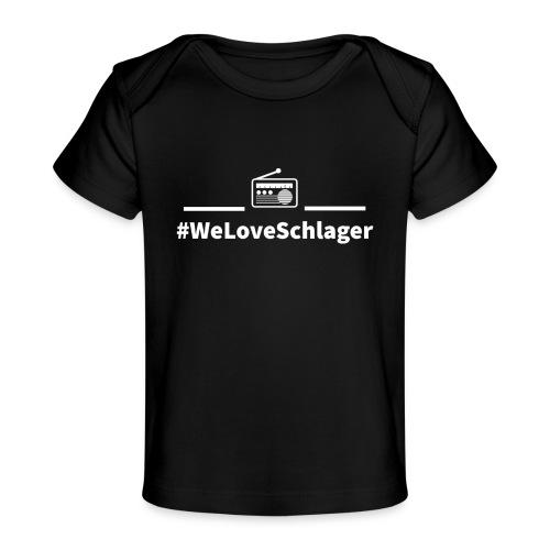 WeLoveSchlagerRadio - Baby Bio-T-Shirt