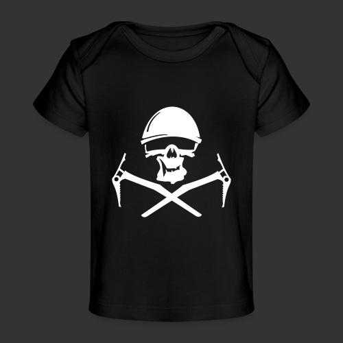 Climbing Skull - Baby Bio-T-Shirt