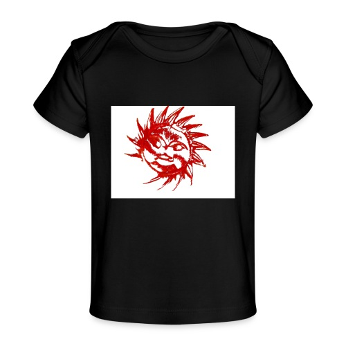 A RED SUN - Organic Baby T-Shirt