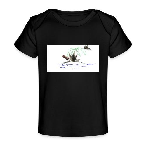 dino - Camiseta orgánica para bebé