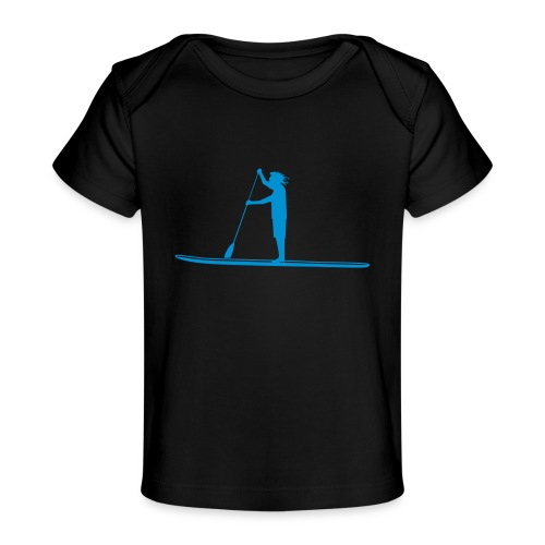 Stand-up Sihlouette - Baby Bio-T-Shirt