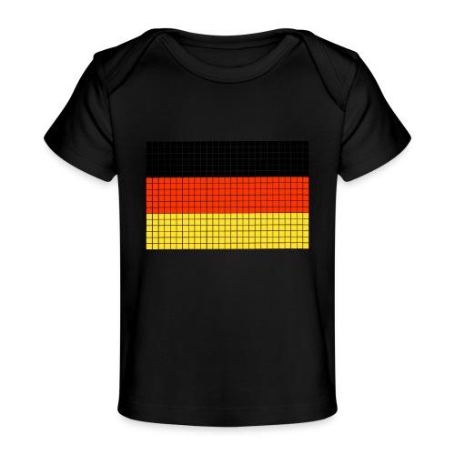 german flag.png - Maglietta ecologica per neonato