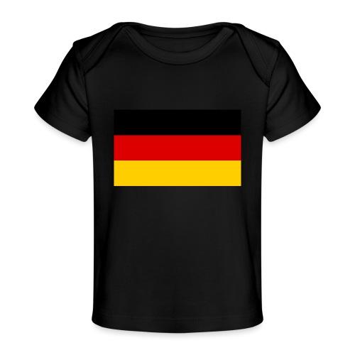 2000px Flag of Germany svg - Baby Bio-T-Shirt