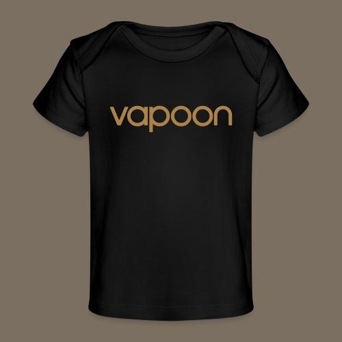 Vapoon Logo simpel 01 - Baby Bio-T-Shirt