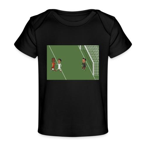 Backheel goal BG - Organic Baby T-Shirt