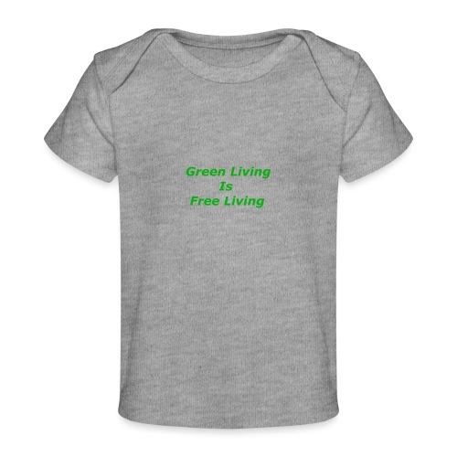Green Living - Økologisk T-shirt til baby
