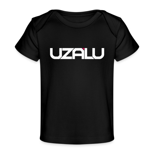 uzalu Text Logo - Organic Baby T-Shirt