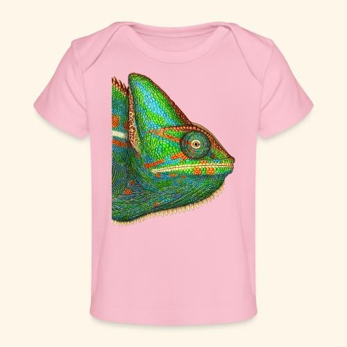 Chamäleon - Baby Bio-T-Shirt