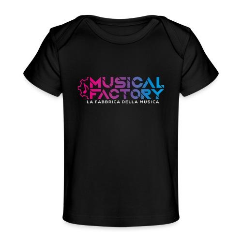 Musical Factory Sign - Maglietta ecologica per neonato