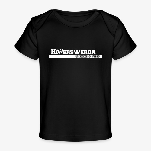 Logo Hoierswerda transparent - Baby Bio-T-Shirt