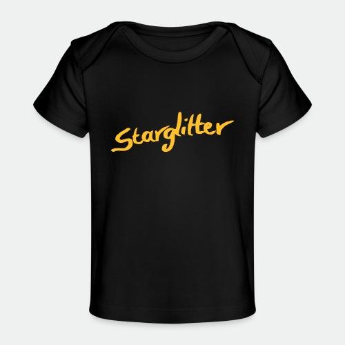 Starglitter - Lettering - Organic Baby T-Shirt