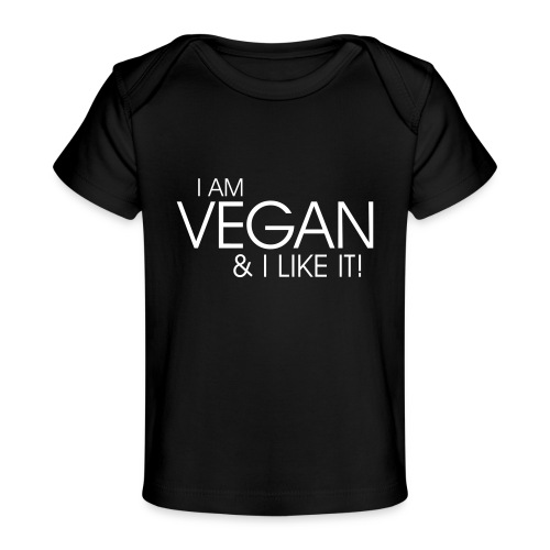 I am vegan and I like it - Baby Bio-T-Shirt