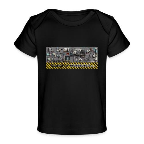 #MarchOfRobots ! LineUp Nr 1 - Økologisk T-shirt til baby