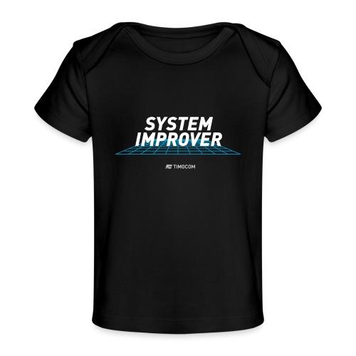 System improver - Økologisk T-shirt til baby