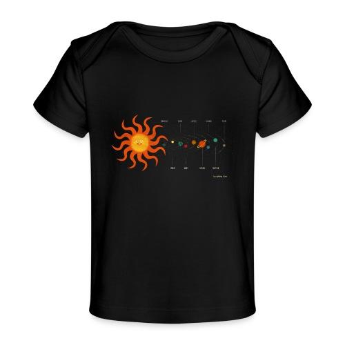 Solar System - Organic Baby T-Shirt