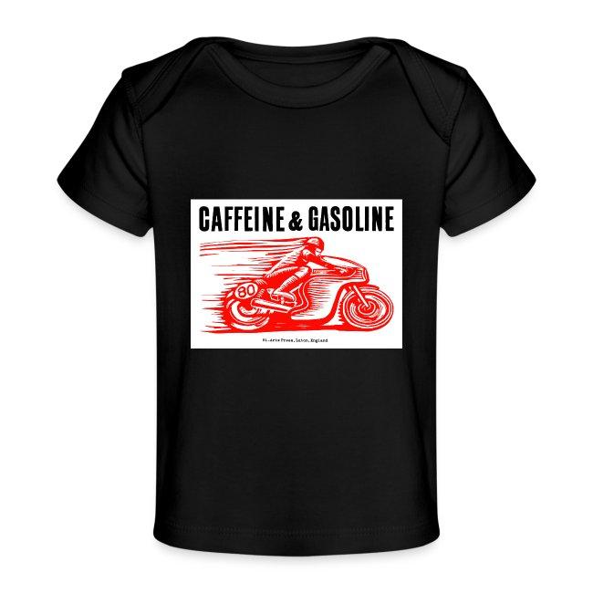 Caffeine & Gasoline black text