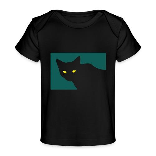 Spy Cat - Organic Baby T-Shirt