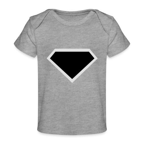 Diamond Black - Two colors customizable - Baby bio-T-shirt