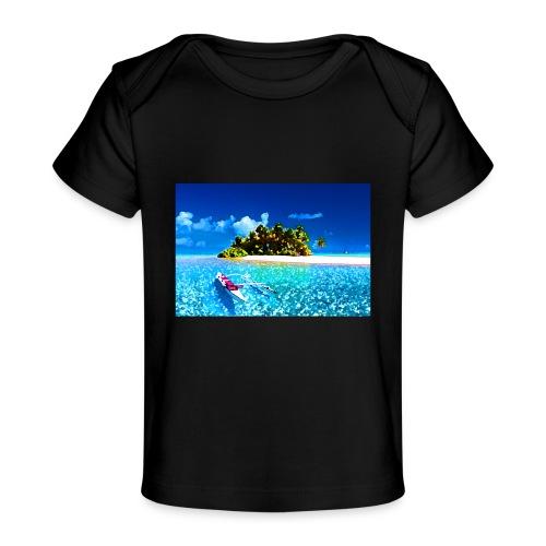 Ile de Polynesie - T-shirt bio Bébé