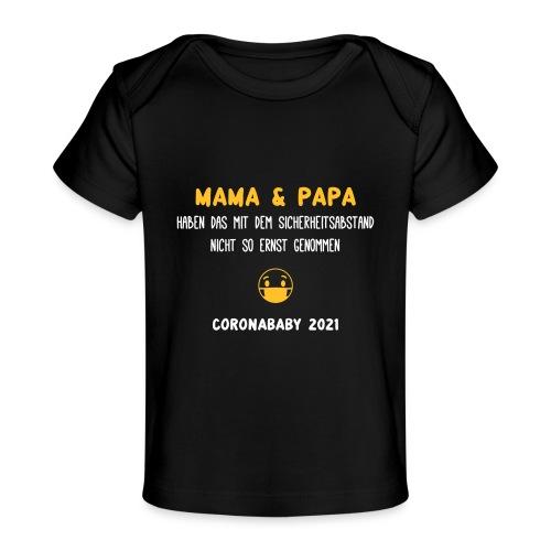 coronababy 01 - Baby Bio-T-Shirt