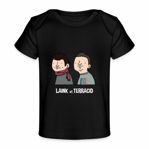 Laink et Terracid old - T-shirt bio Bébé