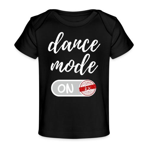 dance mode w - Baby Bio-T-Shirt