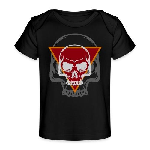 Schädel Skull Skulls Geschenkidee Totenkopf - Baby Bio-T-Shirt