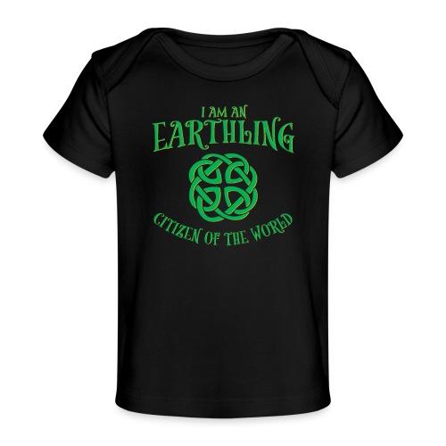 EARTHLING Green the earth - Ekologisk T-shirt baby